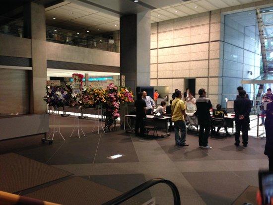 Tokyo International Forum: 天井が高く気分がいい