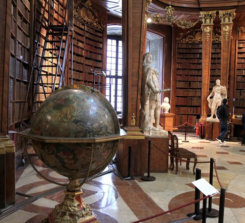 State Hall of the Austrian National Library: World's most beautiful library
