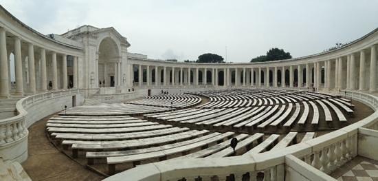 Tumba de los desconocidos: anfiteatro tumba soldado Desconocido
