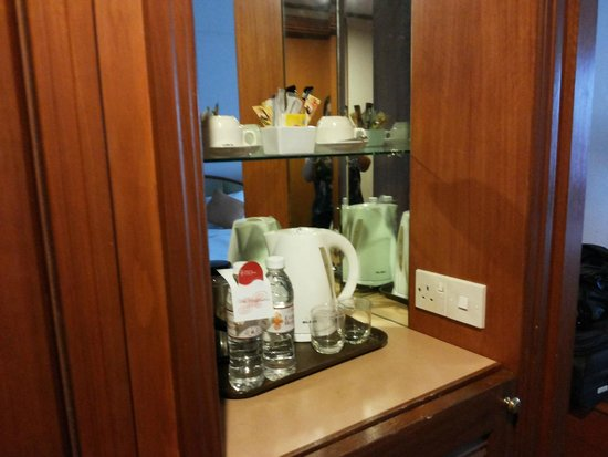 ParkCity Everly Hotel Miri: free coffee, tea and mineral water