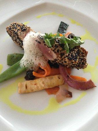 Boutique Hotel Vivenda Miranda: Thunfischfilet