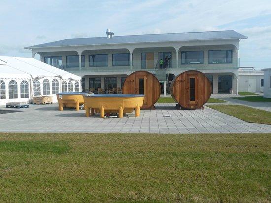 Stracta Hotel Hella: Sauna et Hotspot non achevés