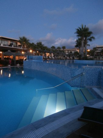 Stella Palace Resort & Spa: Piscina Notte 1