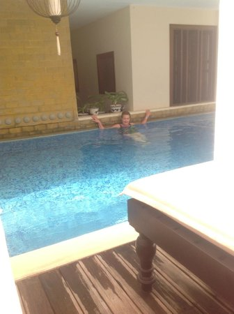 Little Hoian Boutique Hotel & Spa: By the pool