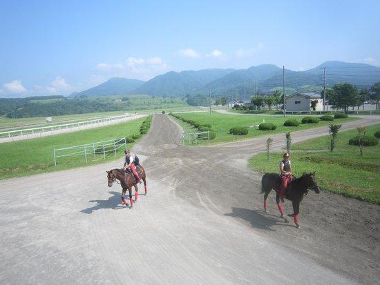 Urakawa Yushun Village AERU: 日高育成牧場