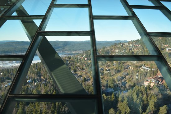 Musée du ski de Holmenkollbakken : View from the top
