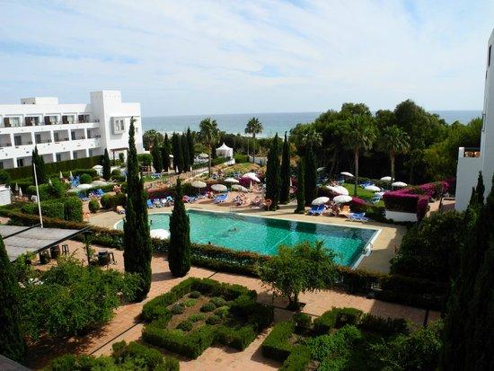 Hotel Fuerte Conil: Ausblick auf den Pool