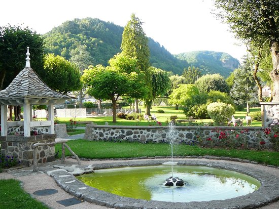 Hotel Beausejour : le jardin