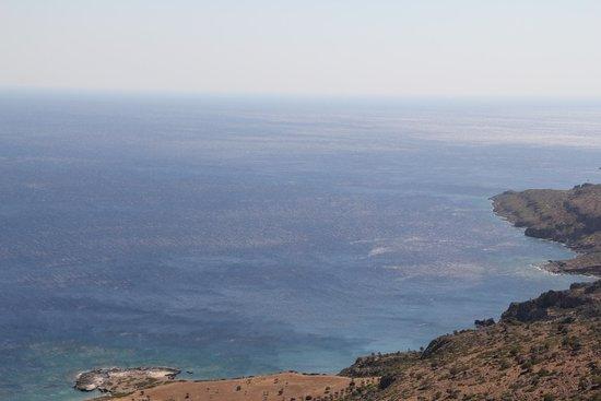 Thalori Traditional Village: Libische zee