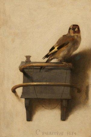Mauritshuis : Carel Fabritius - Het Puttertje