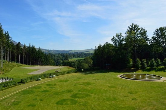 Powerscourt Hotel, Autograph Collection: View from private terrace