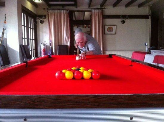 The Cross Foxes: Pool table