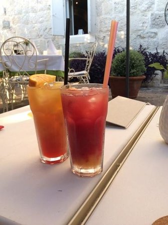 Palazzo Radomiri Hotel: fabulous cocktails!