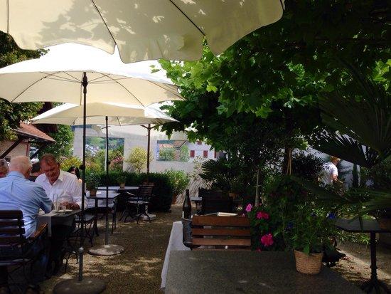Gasthaus Adler Nebikon: Garten.