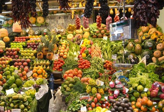 St. Josep La Boqueria : Fresh fruit & veg