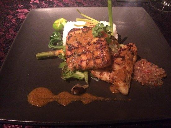 L Hotel Seminyak: Dinner