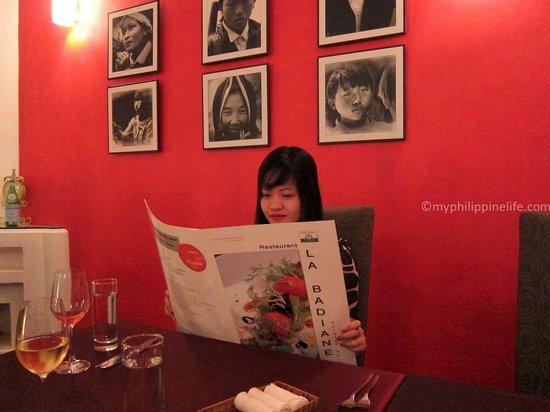 La Badiane restaurant : Dining environment