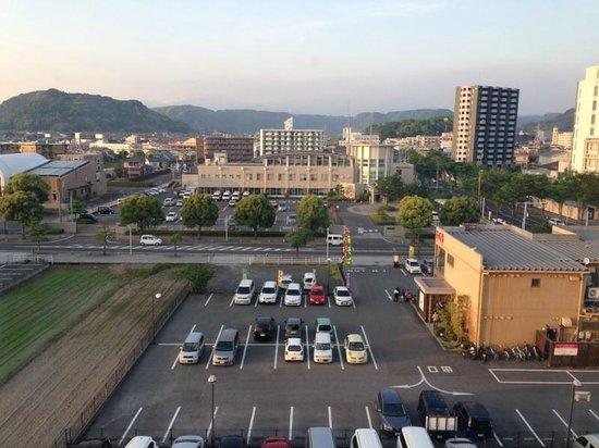 APA Hotel Kagoshima Kokubu: 部屋からの眺め