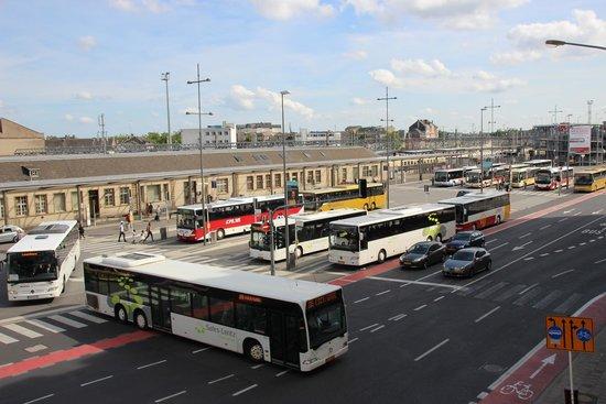 Hotel Empire : Place de la Gare from Empire Hotel