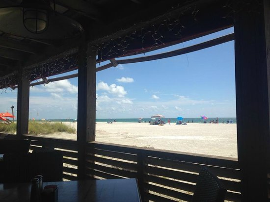 Gulf Drive Cafe : Covered Seating with a Perfect View