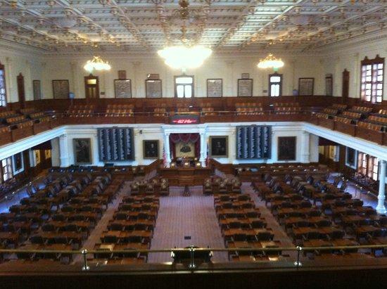 Texas State Capitol : L'un des hémicycle