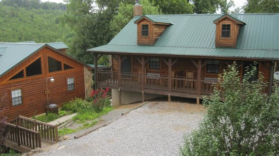 The Lodge At Tellico: a typical building in the Lodge