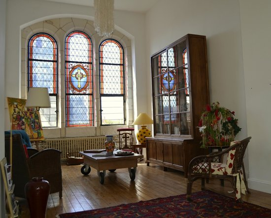 05c2b4f038e bibliothèque dans l ancienne chapelle - Picture of La Maison d ...