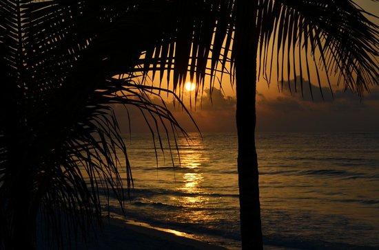Grand Palladium White Sand Resort & Spa : levé du soleil