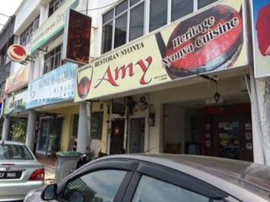 Front view of restaurant picture of amy heritage nyonya for Amy heritage nyonya cuisine