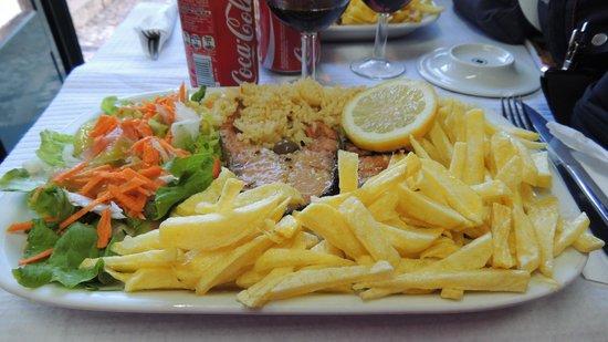 El Rei D'frango : Trancio salmone grigliato