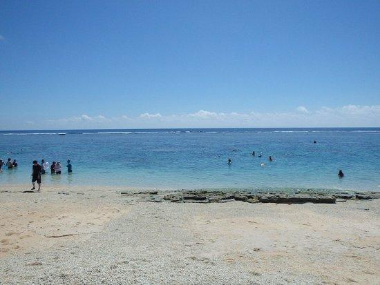 Yoshino Coast: 浜から