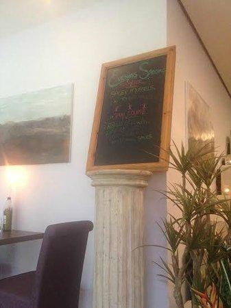 Castlemartyr Resort: Specials board