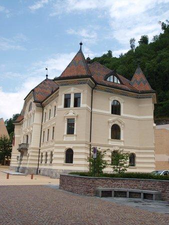 Vaduz Castle: центр