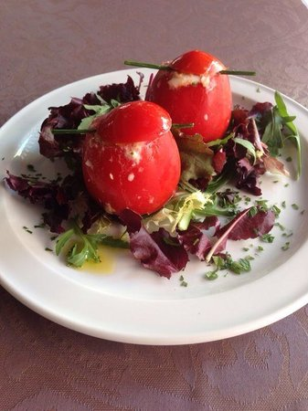 Restaurante Bar La Oca : Tomates rellenos