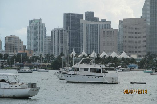 Chesterfield Hotel: View of Miami from boat trip