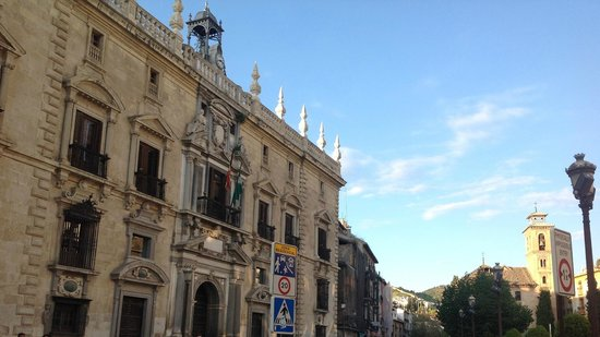 Plaza Nueva: The plaza from the south west