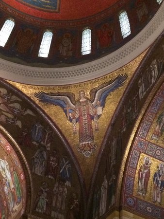 Cathedral Basilica of Saint Louis: Mosaic from interior of Cathedral Basilica of St. Louis
