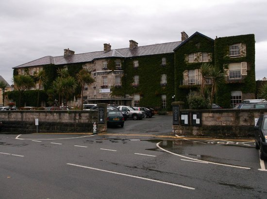 The Bulkeley Hotel: View from the beach