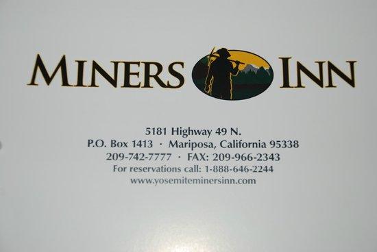 Miners Inn Motel: Miner´s Inn motel