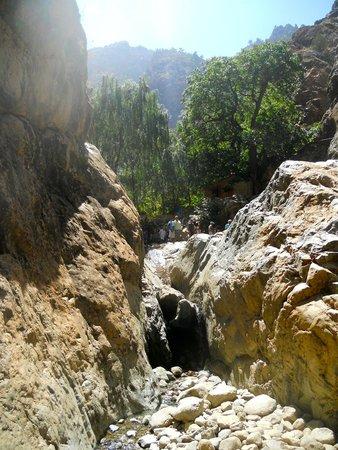 High Atlas Mountains : Itinéraire pour la 1ère source