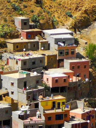 High Atlas Mountains : Aperçu des sommets : les cubes !