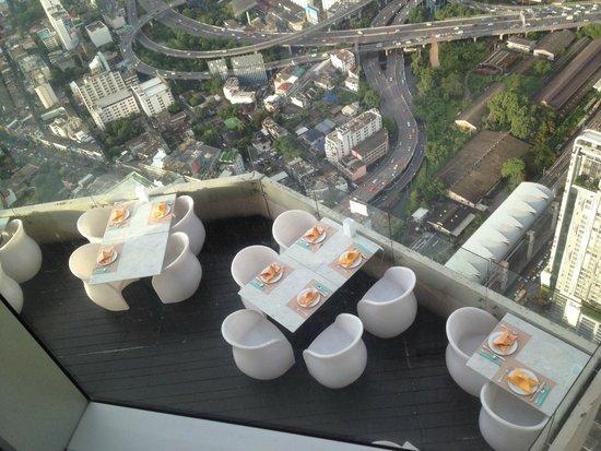 Sky Bar, Bangkok: Ресторан веранда