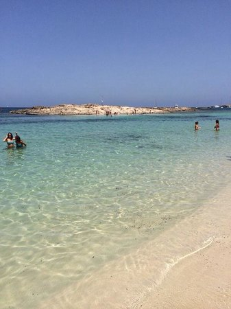 Playa es Pujols : Playa di Es Pujol