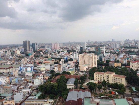 Hotel Nikko Saigon: クラブラウンジからの眺め