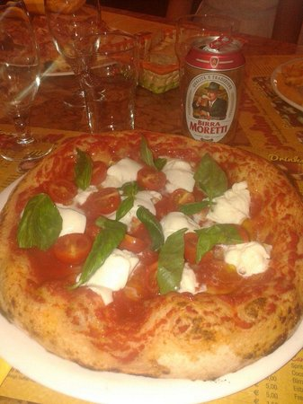 Il Giardino di Barbano : Pizza en Florencia