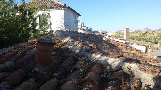 Hotel Enfrente Arte: tiled roof tops