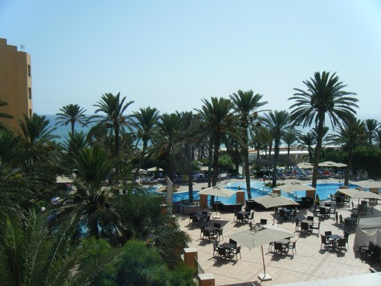 Hotel Vendome El Ksar Resort & Thalasso : View from sea view room