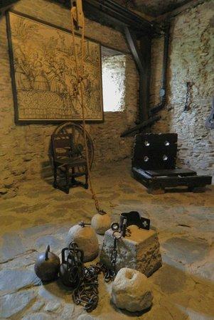 Schloss Marksburg: Former stables-Torturing Chamber