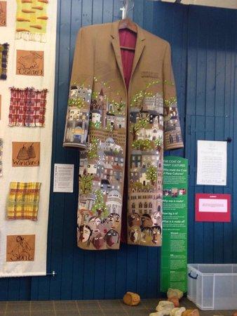 Bradford Industrial Museum: Coat of many cultures