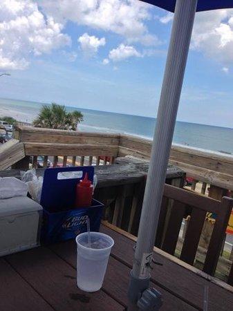 Finn's Beachside: top deck